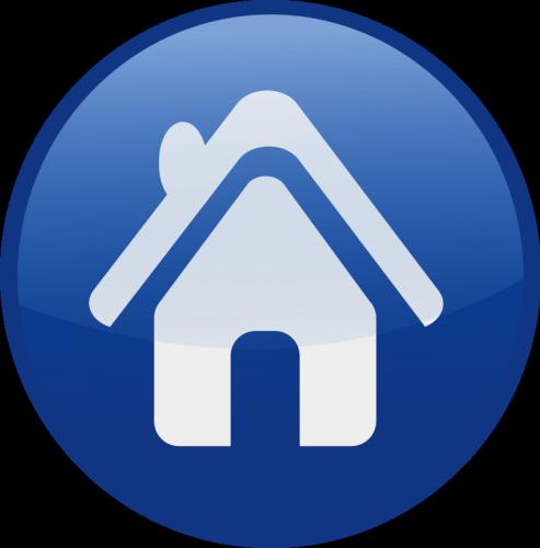 house-blue